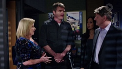 Sheila Canning, Gary Canning, Mishti Sharma, Det. Bill Graves in Neighbours Episode 7736