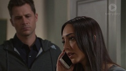 Mark Brennan, Mishti Sharma in Neighbours Episode 7736