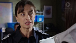 Snr. Sgt. Christina Lake in Neighbours Episode 7737