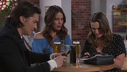 Leo Tanaka, Elly Conway, Amy Williams in Neighbours Episode 7738