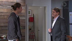 Tyler Brennan, Det. Bill Graves in Neighbours Episode 7738