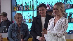 Steph Scully, Leo Tanaka, Courtney Grixti in Neighbours Episode 7738