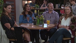 Amy Williams, Elly Conway, Toadie Rebecchi, Sonya Mitchell in Neighbours Episode 7738