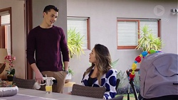 Jack Callaghan, Paige Novak in Neighbours Episode 7739