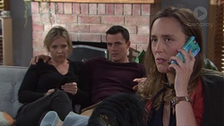 Steph Scully, Jack Callaghan, Sonya Mitchell in Neighbours Episode 7739