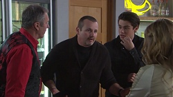 Karl Kennedy, Toadie Rebecchi, Ben Kirk, Xanthe Canning in Neighbours Episode 7739