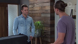 Mark Brennan, Tyler Brennan in Neighbours Episode 7740