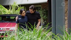 Mishti Sharma, Leo Tanaka in Neighbours Episode 7740