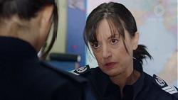 Mishti Sharma, Snr. Sgt. Christina Lake in Neighbours Episode 7740