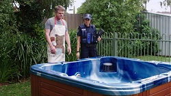 Gary Canning, Mishti Sharma in Neighbours Episode 7740