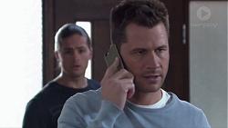 Tyler Brennan, Mark Brennan in Neighbours Episode 7740
