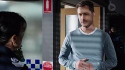 Snr. Sgt. Christina Lake, Mark Brennan in Neighbours Episode 7740