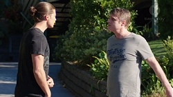 Tyler Brennan, Gary Canning in Neighbours Episode 7741