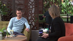 Mark Brennan, Steph Scully in Neighbours Episode 7741