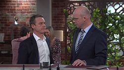 Paul Robinson, Tim Collins in Neighbours Episode 7741