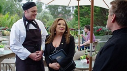 Gary Canning, Terese Willis, Aleksander Petrov in Neighbours Episode 7741