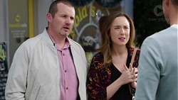 Toadie Rebecchi, Sonya Mitchell, Mark Brennan in Neighbours Episode 7741