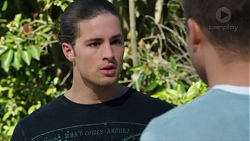 Tyler Brennan, Mark Brennan in Neighbours Episode 7741