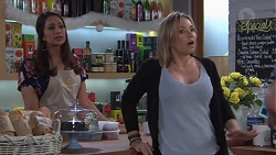 Dipi Rebecchi, Steph Scully in Neighbours Episode 7742