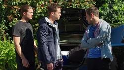 Tyler Brennan, Mark Brennan, Aaron Brennan in Neighbours Episode 7742