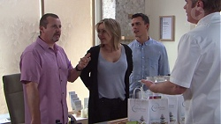 Toadie Rebecchi, Steph Scully, Jack Callaghan, Gary Canning in Neighbours Episode 7742