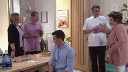 Steph Scully, Toadie Rebecchi, Jack Callaghan, Gary Canning, Lyn Scully in Neighbours Episode 7742