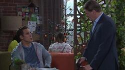 Aaron Brennan, Det. Bill Graves in Neighbours Episode 7742