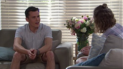 Jack Callaghan, Piper Willis in Neighbours Episode 7744