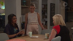 Dipi Rebecchi, Xanthe Canning, Sheila Canning in Neighbours Episode 7744