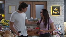 Leo Tanaka, Mishti Sharma in Neighbours Episode 7745