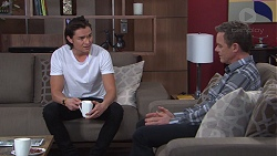 Leo Tanaka, Paul Robinson in Neighbours Episode 7745