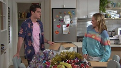 Ben Kirk, Xanthe Canning in Neighbours Episode 7745