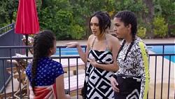 Kirsha Rebecchi, Mishti Sharma, Yashvi Rebecchi in Neighbours Episode 7746
