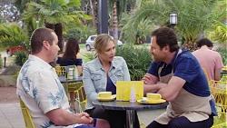 Toadie Rebecchi, Steph Scully, Shane Rebecchi in Neighbours Episode 7746