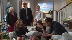 Sheila Canning, Gary Canning, Xanthe Canning, Terese Willis, Piper Willis, Tyler Brennan in Neighbours Episode 7746