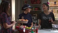 Dipi Rebecchi, Mishti Sharma, Yashvi Rebecchi in Neighbours Episode 7746