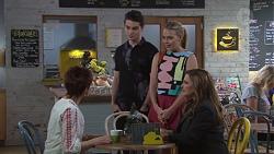 Susan Kennedy, Ben Kirk, Xanthe Canning, Terese Willis in Neighbours Episode 7747
