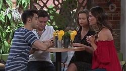 David Tanaka, Leo Tanaka, Amy Williams, Elly Conway in Neighbours Episode 7748