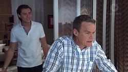 Leo Tanaka, Paul Robinson in Neighbours Episode 7748