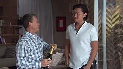 Paul Robinson, Leo Tanaka in Neighbours Episode 7748