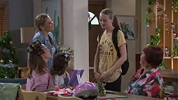 Steph Scully, Willow Bliss, Sonya Mitchell, Nell Rebecchi, Angie Rebecchi in Neighbours Episode 7750