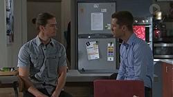 Tyler Brennan, Mark Brennan in Neighbours Episode 7750