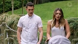 Jack Callaghan, Paige Novak in Neighbours Episode 7750