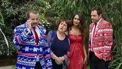Toadie Rebecchi, Angie Rebecchi, Dipi Rebecchi, Shane Rebecchi in Neighbours Episode 7750