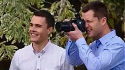 Jack Callahan, Mark Brennan in Neighbours Episode 7750