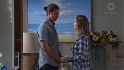 Tyler Brennan, Piper Willis in Neighbours Episode 7750