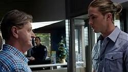 Det. Bill Graves, Tyler Brennan in Neighbours Episode 7750