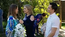 Sonya Mitchell, Steph Scully, Angie Rebecchi, Jack Callaghan in Neighbours Episode 7750