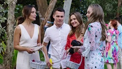 Elly Conway, Jack Callaghan, Amy Williams, Willow Bliss in Neighbours Episode 7751