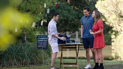David Tanaka, Leo Tanaka, Amy Williams in Neighbours Episode 7751